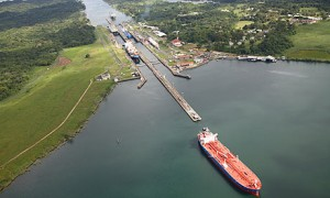 The Panama Canal faces challenges from rival projects.